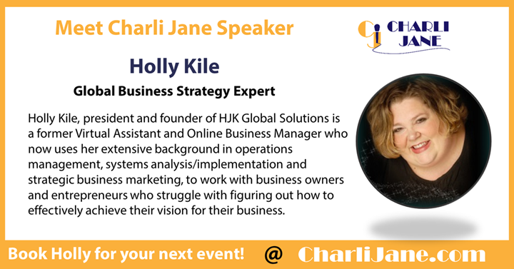 Holly Kile, president and founder of HJK Global Solutions