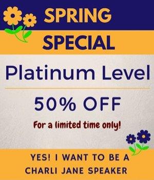Platinum Charli Jane Speaker