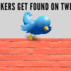 Speakers get found on twitter