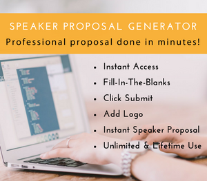 Speaker Proposal Generator