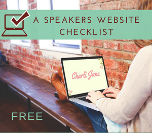A Speakers Website Checklist
