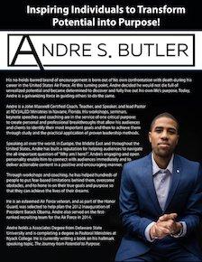 Andre Butler Onesheet