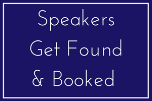 Speakers get found and booked