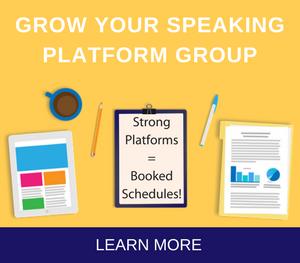 Grow your speaking platform