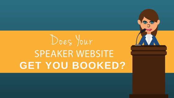 Speaker Website