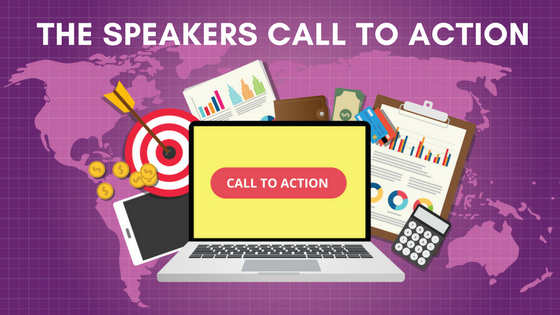 The Speakers Call to Action