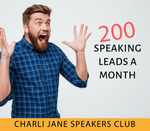 Charli Jane Speakers Club