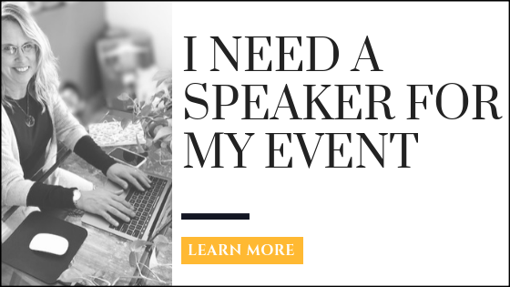 I need a speaker