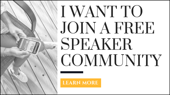 Speaker facebook community