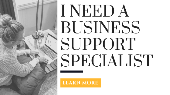 Business Support Specialist