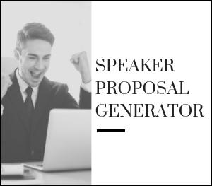 Speaker Proposals