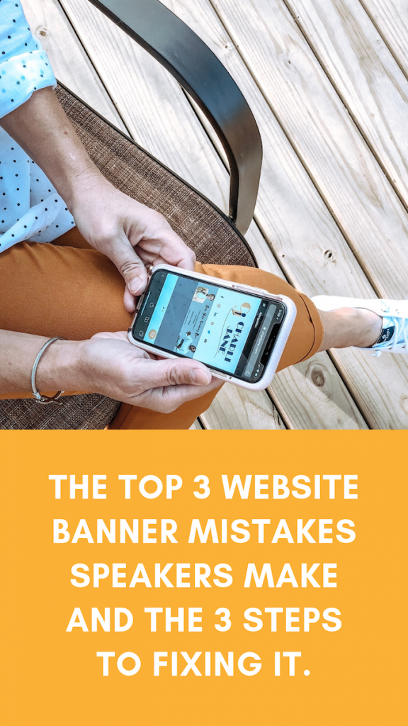 3 Mistakes Common on Speaker Website Banners