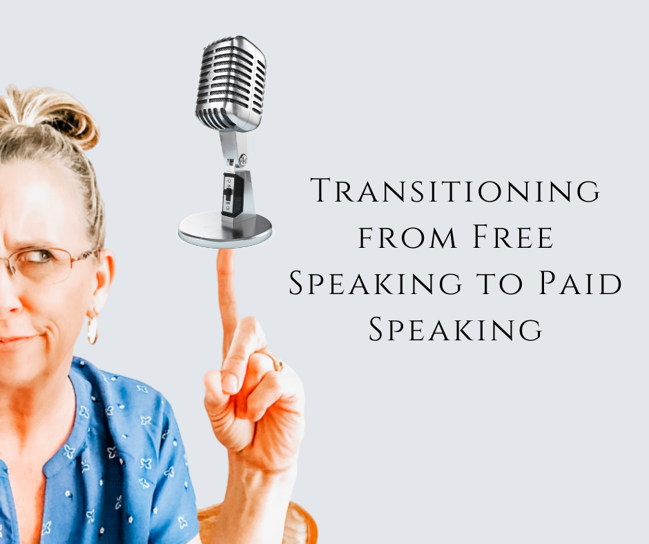 Transitioning from Free Speaking to Paid Speaking