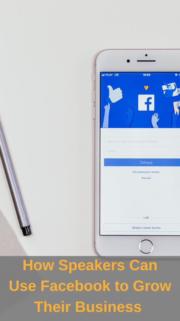 How Speakers Can Use Facebook to Grow Their Business