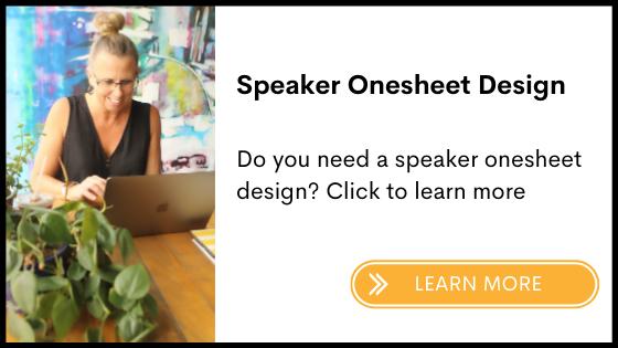 Speaker onesheet
