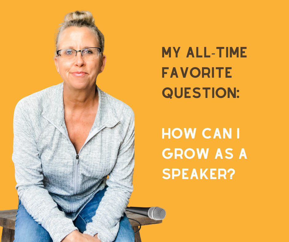 How Can I Grow As A Speaker?