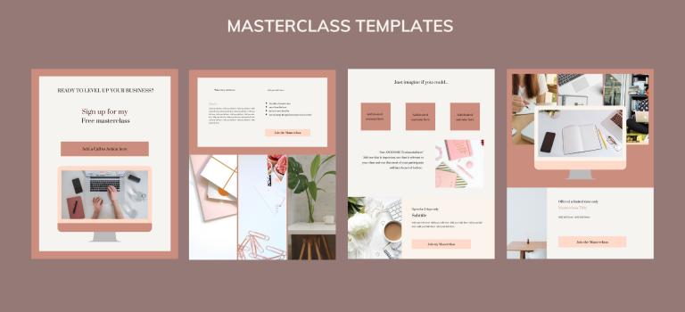 Masterclass templates