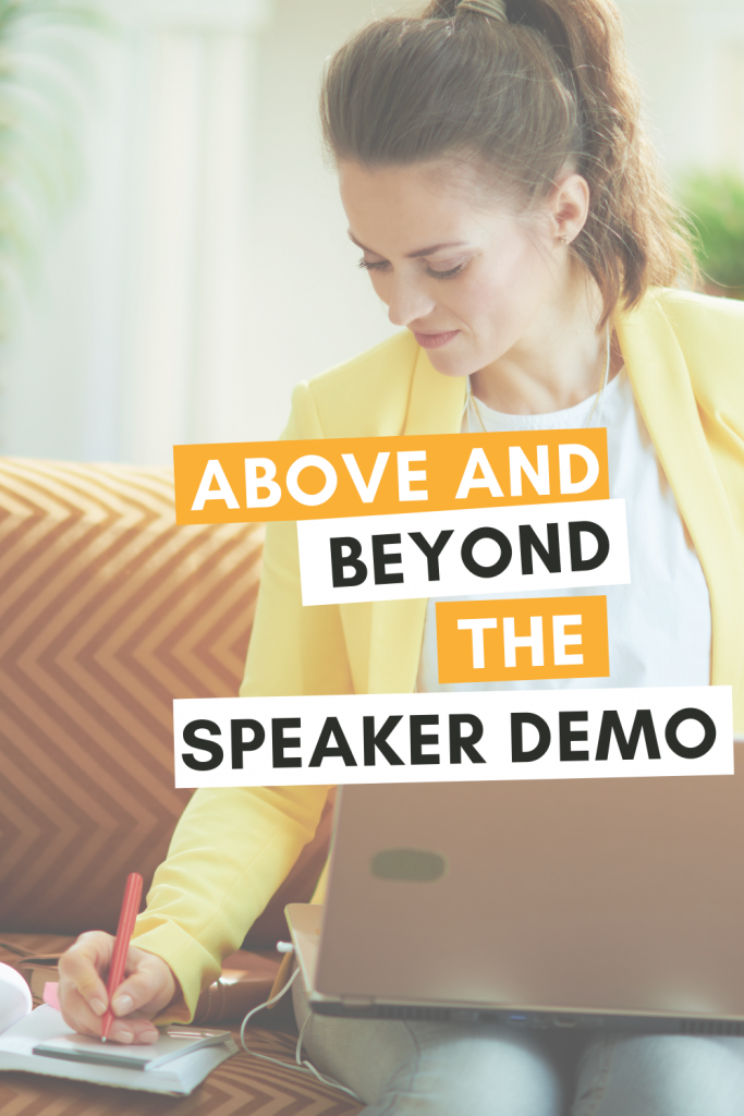 Above and Beyond the Speaker Demo