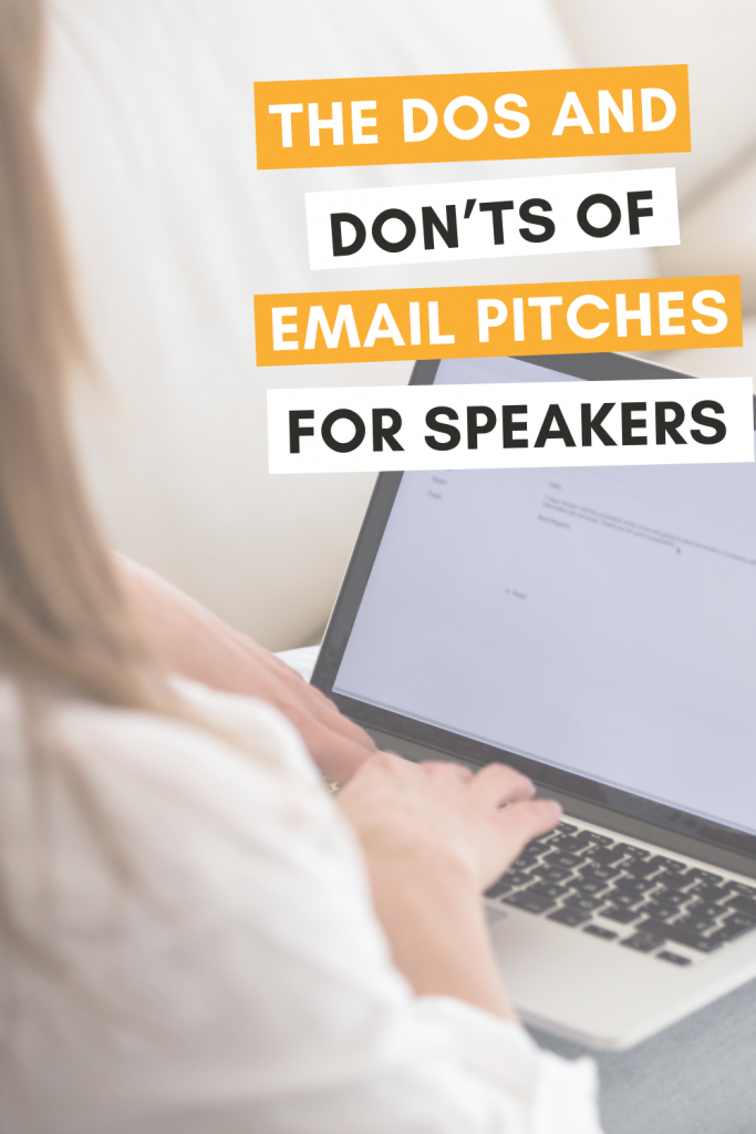 Pitching planners in emails