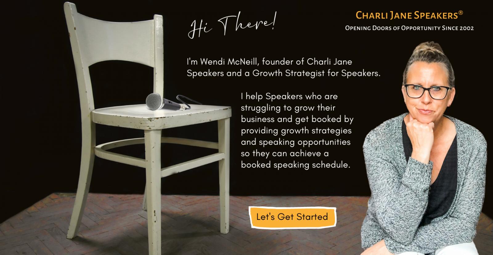Chari Jane Speakers