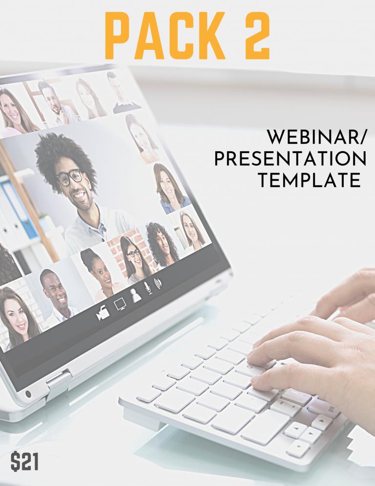 webinar presentation template