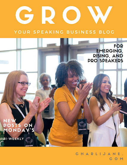 Grow your speaking business blog