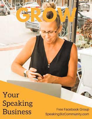 Public speaking biz Facebook Group
