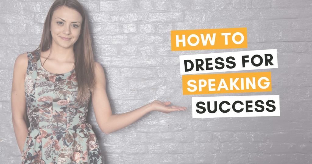 How to Dress for Public Speaking Events
