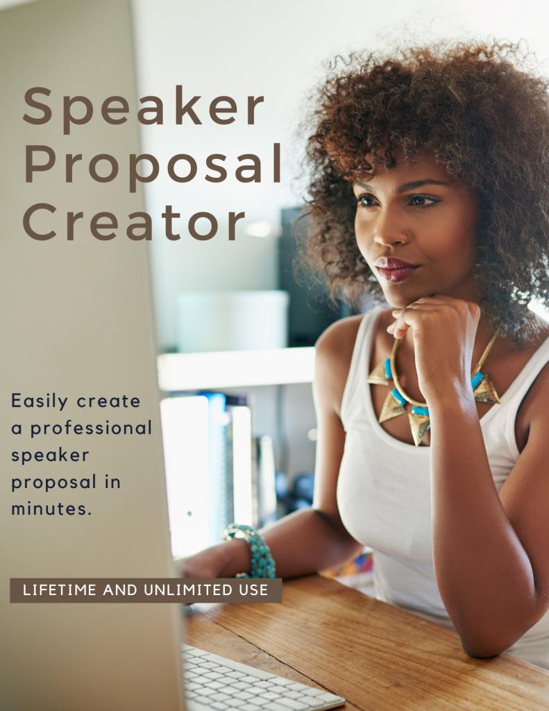 Speaker Proposal Creator
