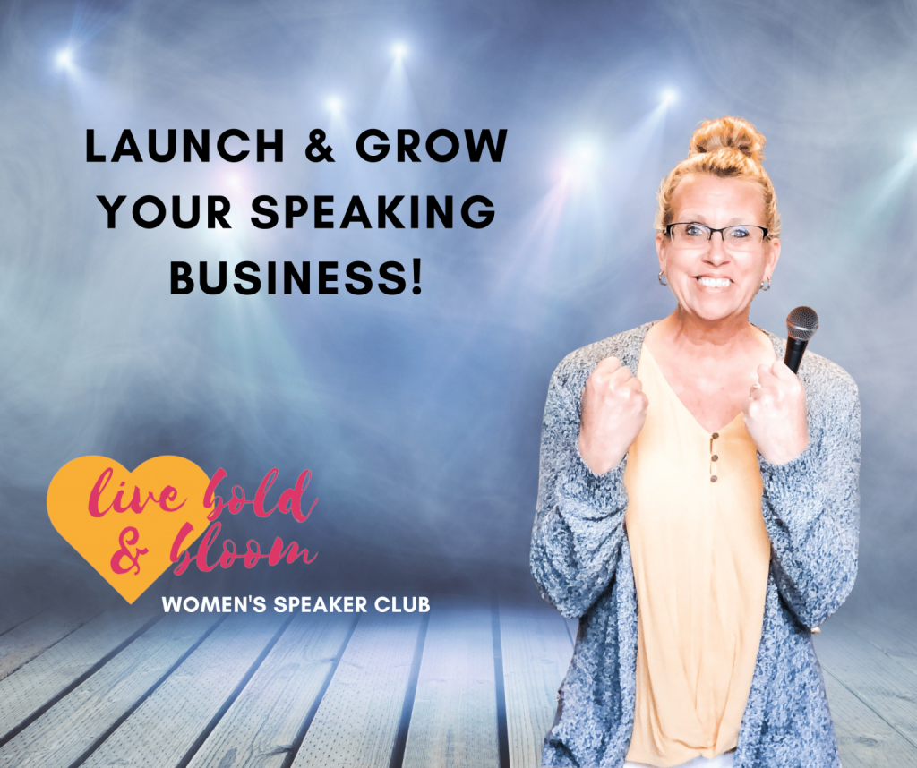 Live Bold and Bloom Women's Speaker Club